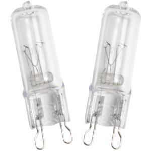 Halogen G9 Capsule 28W Light Bulb - 4 pack