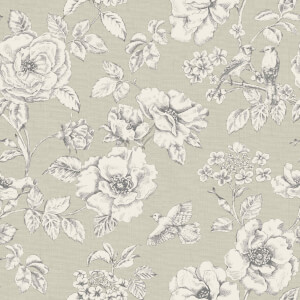 Grandeco Evelyn Trail Stone Wallpaper