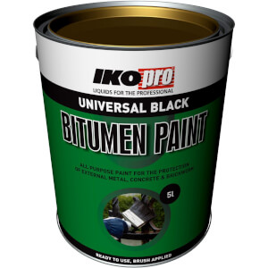 Black Bitumen Paint 5L
