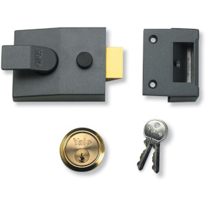 Yale 89 Deadlocking Nightlatch 60mm - Grey