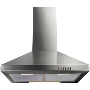 CDA ECH61SS Chimney Cooker Hood - 60cm - Stainless Steel