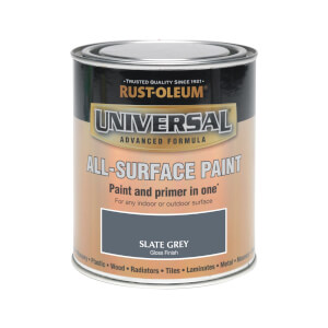 Rust-Oleum Universal All Surface Gloss Paint & Primer - Slate Grey - 750ml