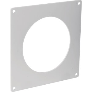 Round Ducting Wall Plate