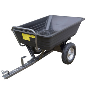Handy 295kg Poly Body Towed Dump Trailer
