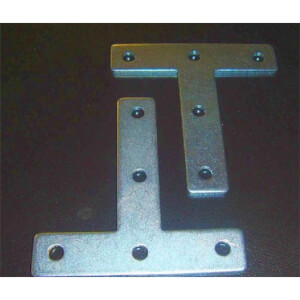 T Plate - 75mm - 2 Piece