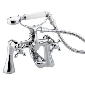 Bristan Regency Bath Shower Mixer - Chrome