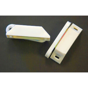 Strong Magnetic Catch - White - 2 Pack