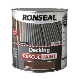 Ronseal Decking Rescue Paint Maple - 2.5L