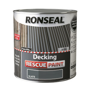 Ronseal Decking Rescue Paint Slate - 2.5L