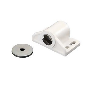 Magnetic Catch - White - 33 x 26 x 17mm - 2 Pack