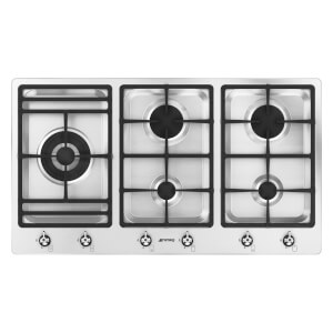 Smeg PS906-5 90cm 5 Burner Low Profile Gas Hob
