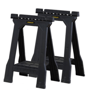 Stanley Junior Folding Sawhorse (Twin Pack)