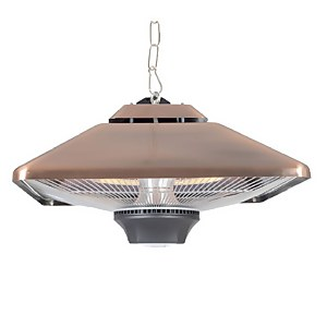 La Hacienda Hanging Copper Halogen Heater