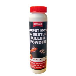 Rentokil Carpet Moth Beetle Killer Powder - 211.6g