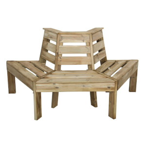 Forest Wooden Tree Seat