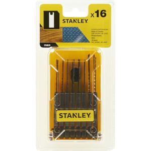 Stanley 16 Pc Jigsaw Blade Set - STA28170-XJ