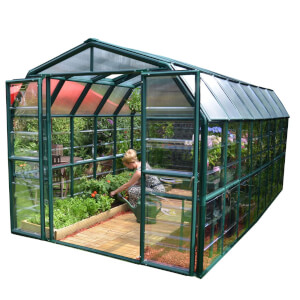 Rion 8 x 16ft Grand Gardener Green Greenhouse