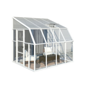 Palram Rion Clear Sun Room - 8 x 8ft