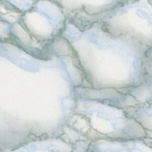Fablon Sticky Back Plastic - Marble Grey and Blue - 675mm x 2m