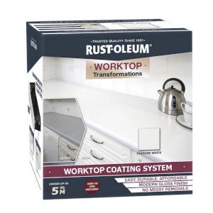 Rust-Oleum Kitchen Worktop Transformation Kit Diamond White