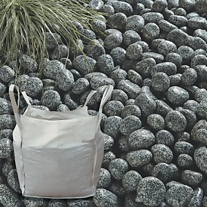 Stylish Stone Cornish Silver Cobbles - Bulk Bag 750 kg