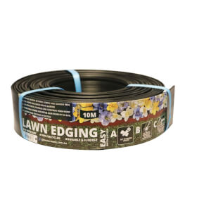 Lawn Edging - 75mm x 10 Metre / Black