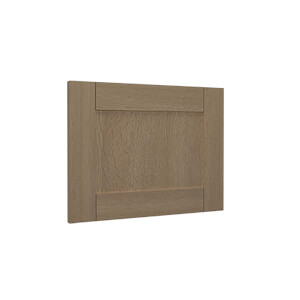 Timber Shaker Oak Integrated extractor door (597x445)