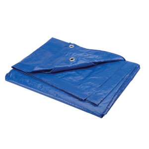 Polytuf Medium Duty Tarpaulin - 3.6 x 4.9m