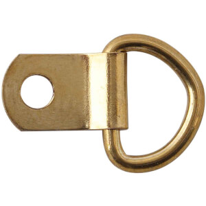 Medium Brass Picture Ring & Plate - 2 Pack