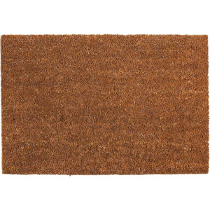 Plain PVC Coir Doormat - Small