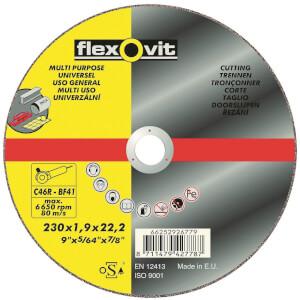Flexovit Multi-Purpose Cutting Off Wheel - 230mm