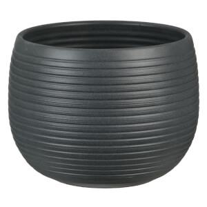 Plant Pot - Graphite Stone - 16cm