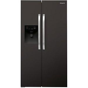 Hotpoint Day1 SXBHE 925 WD Fridge Freezer - Black