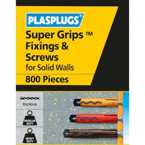 Plasplugs Wall Plugs Mixed Bulk x 800