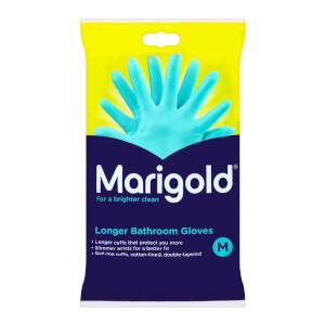Marigold Bathroom Long Cuff Gloves - Medium