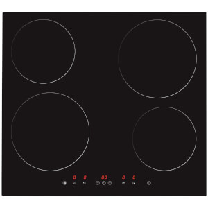 Matrix MHN101FR 4 Zone Induction Hob - Black