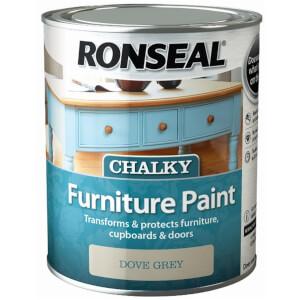 Ronseal Chalk Paint Dove Grey - 750ml
