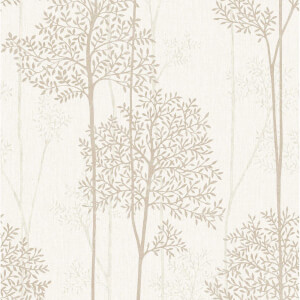 Superfresco Easy Paste the Wall Eternal Wallpaper - Cream & Gold