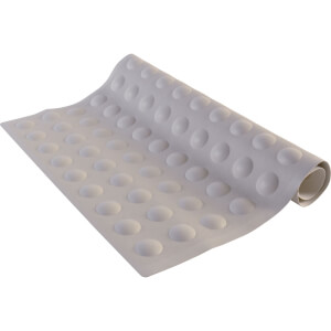 Croydex Heavy Duty Bath Mat - White