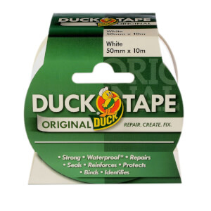 Duck Original Tape White - 50mm x 10m