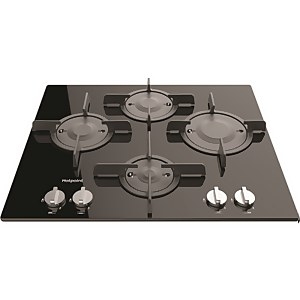 Hotpoint FTGHG 641 D/H BK Built-in Gas Hob - Black