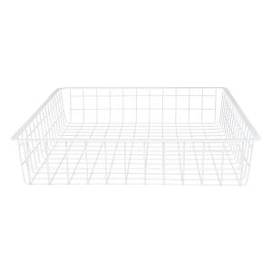 Wire 1 Runner Basket - White - 85mm