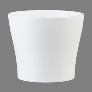 Plant Pot - White  - 19cm