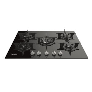 Indesit PR 752 W/IBK Gas Hob - Black