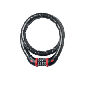 Master Lock Armoured Combi Cable - 1m x 18mm