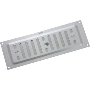 Adjustable Vent - 229 x 76mm - Silver Aluminium