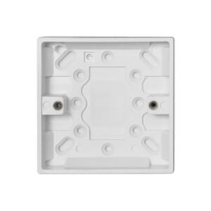 Arlec 1 Gang Pattress Box 16mm White