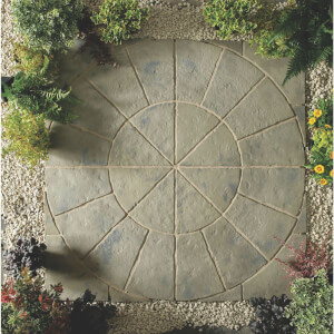 Stylish Stone Belfrey Circle 1.8m - Rustic Sage
