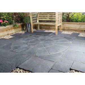 Stylish Stone Belfrey Circle 1.8m - Graphite