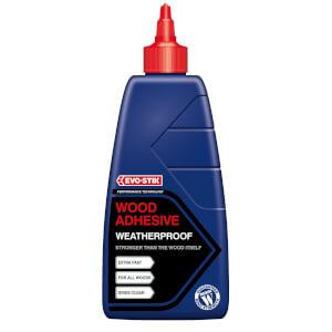 Evo-Stik Resin Wood Adhesive Exterior Bottle - 1L